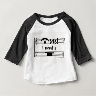 私を握って下さい!  私は残りを必要とします! ベビーTシャツ