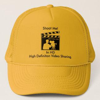私を撃って下さい! カスタマイズ金ゴールドの帽子- キャップ