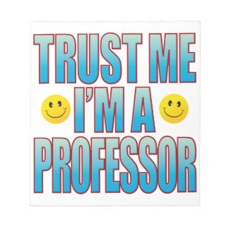 私を教授生命B信頼して下さい ノートパッド