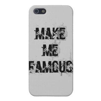 私を有名にさせて下さい iPhone 5 CASE