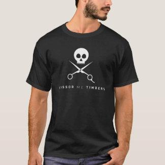 私を材木切って下さい Tシャツ