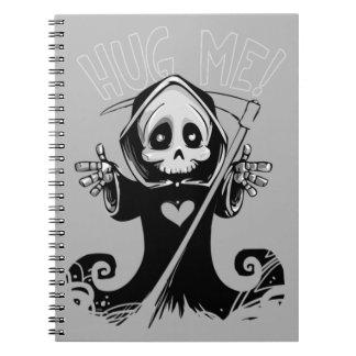 私を死神のノート抱き締めて下さい ノートブック