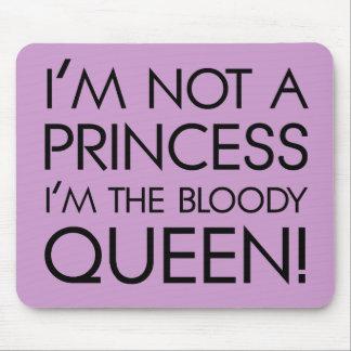 私を王女と電話することを止めて下さい: 私は血の女王です! マウスパッド