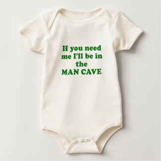 私を病気必要としたら人の洞窟にあって下さい ベビーボディスーツ