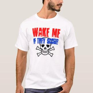 私を目覚めさせて下さい Tシャツ
