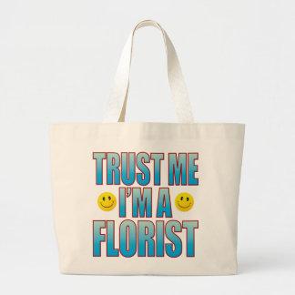 私を花屋の生命B信頼して下さい ラージトートバッグ