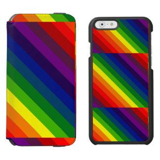 私を虹着色して下さい! INCIPIO WATSON™ iPhone 6 ウォレットケース