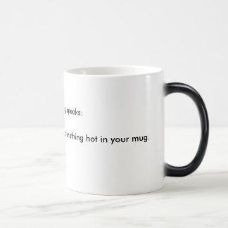…私を読むことができれば モーフィングマグカップ