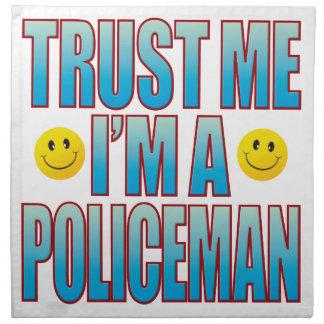 私を警官生命B信頼して下さい ナプキンクロス