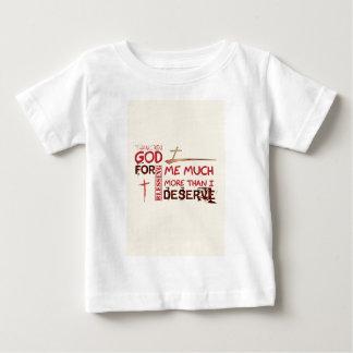 私を賛美するために神ありがとう ベビーTシャツ