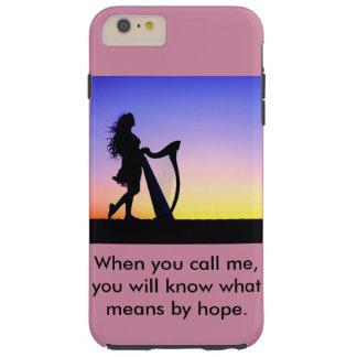 私を電話する場合、意味するものが希望によって知っています iPhone 6 PLUS タフケース