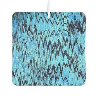 私を青のタイル(抽象美術のデザイン) ~.余りに着色して下さい カーエアーフレッシュナー