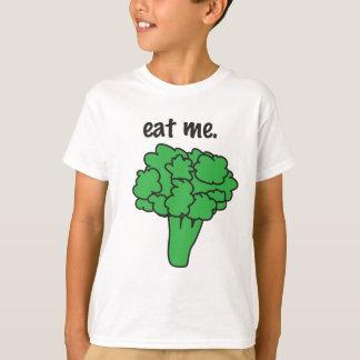 私を食べて下さい。 (ブロッコリー) Tシャツ