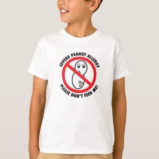 私を食べ物を与えないで下さい! 子供のTシャツ Tシャツ