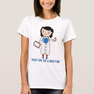 私を4信頼して下さい Tシャツ