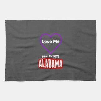 私を、私ありますアラバマから愛して下さい キッチンタオル