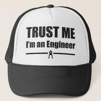 私を、私ありますエンジニアが信頼して下さい キャップ