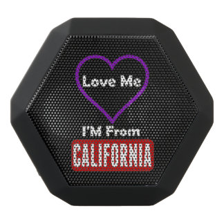 私を、私ありますカリフォルニアから愛して下さい ブラックBluetoothスピーカー