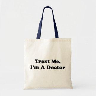私を、私あります医者が信頼して下さい トートバッグ
