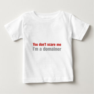 私を、私ですdomainerおびえさせません ベビーTシャツ