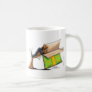 私をAiredaleのウェルシュテリア驚かして下さい コーヒーマグカップ