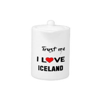 私をI愛アイスランド信頼して下さい