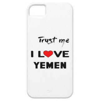 私をI愛イエメン信頼して下さい iPhone SE/5/5s ケース