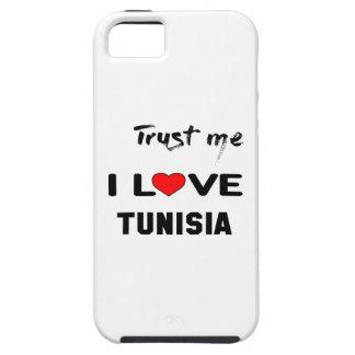私をI愛チュニジア信頼して下さい iPhone SE/5/5s ケース