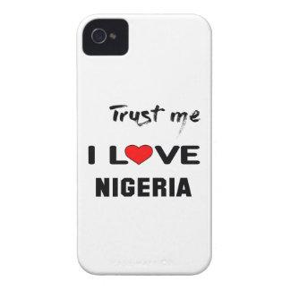 私をI愛ナイジェリア信頼して下さい Case-Mate iPhone 4 ケース