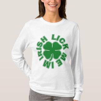 私をImアイルランド語舐めて下さい Tシャツ