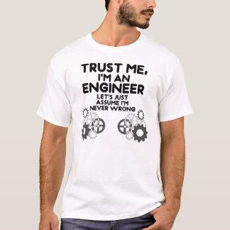 私をImエンジニア信頼して下さい Tシャツ