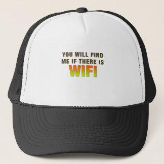 私をWIFI見つけて下さい キャップ