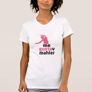 私グスタフ・マーラー Tシャツ