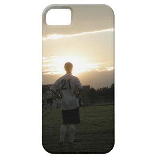 私コーチに置かれる! サッカーの@薄暗がりのiPhone 5/5sの場合 iPhone SE/5/5s ケース