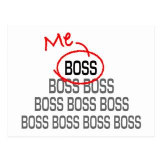 私ボス ポストカード
