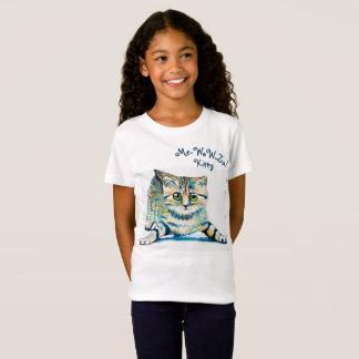私ワウZa! 子猫の女の子のワイシャツ Tシャツ