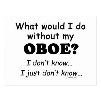 私何が、Oboeして下さい ポストカード