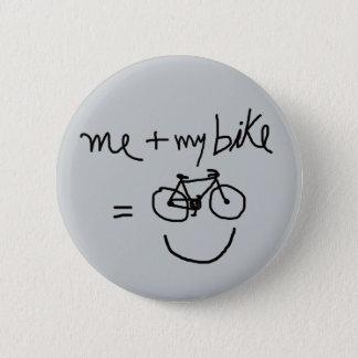 私及び私のバイク=幸福 5.7CM 丸型バッジ