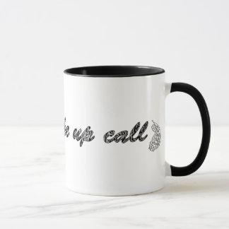 私呼出しを目覚めて下さい マグカップ