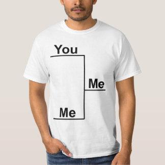 私対ブラケットのTシャツ Tシャツ