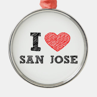 私愛サンホセ メタルオーナメント