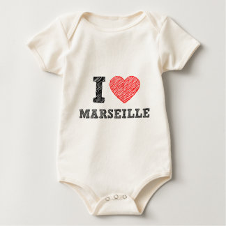 私愛マルセーユ ベビーボディスーツ