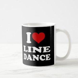 私愛ラインダンス コーヒーマグカップ