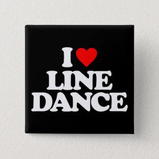 私愛ラインダンス 缶バッジ