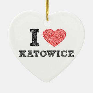 私愛Katowice セラミックオーナメント