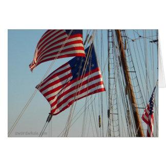 私掠船の旗 カード