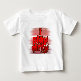 私演劇汚れた ベビーTシャツ