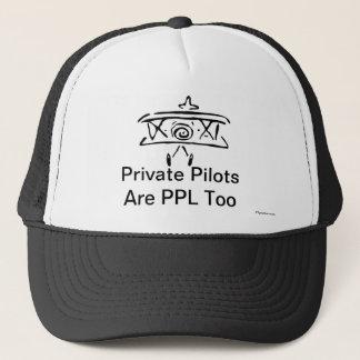 私用パイロットはPPLですも キャップ