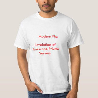 私用RunescapeのモダンなPkzRevolution… Tシャツ