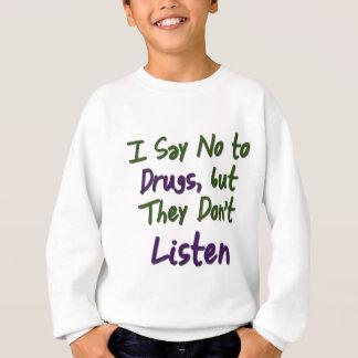 私発言に薬剤、 スウェットシャツ